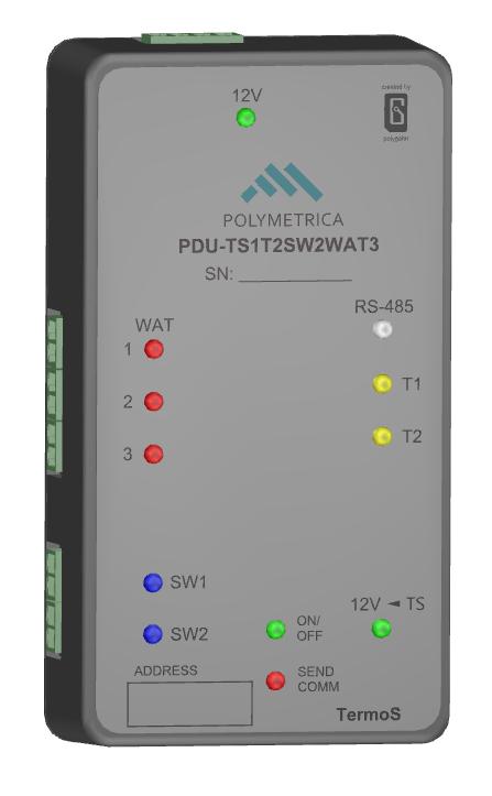Контроллер управления тепловой завесой Thermoscreens C1000E NT